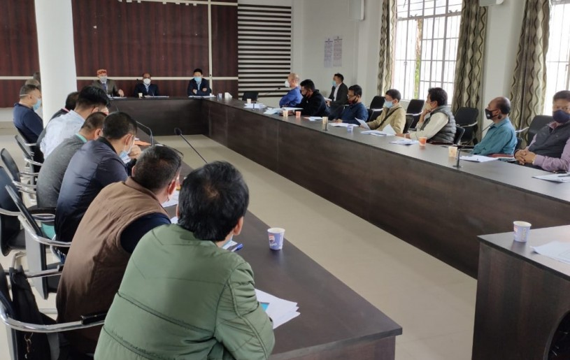 Training for Micro Observer in Kohima on October 26. (DIPR Photo)