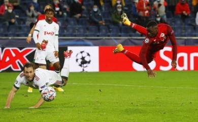 FC Salzburg's Patson Daka in action REUTERS/Leonhard Foeger