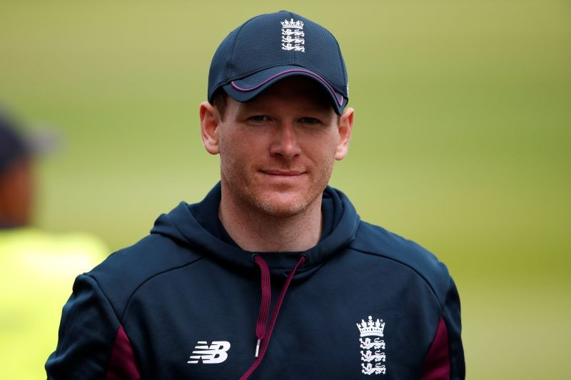 England's Eoin Morgan during nets Action Images via Reuters/Andrew Boyers/File Photo