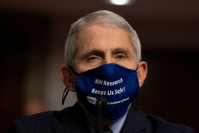 Anthony Fauci, MD, Director, National Institute of Allergy and Infectious Diseases, National Institutes of Health, looks on before testifying at a U.S. Senate Senate Health, Education, Labor, and Pensions Committee Hearing to examine COVID-19, focusing on an update on the federal response at the U.S. Capitol Washington, D.C., U.S., September 23, 2020.  (REUTERS File Photo)