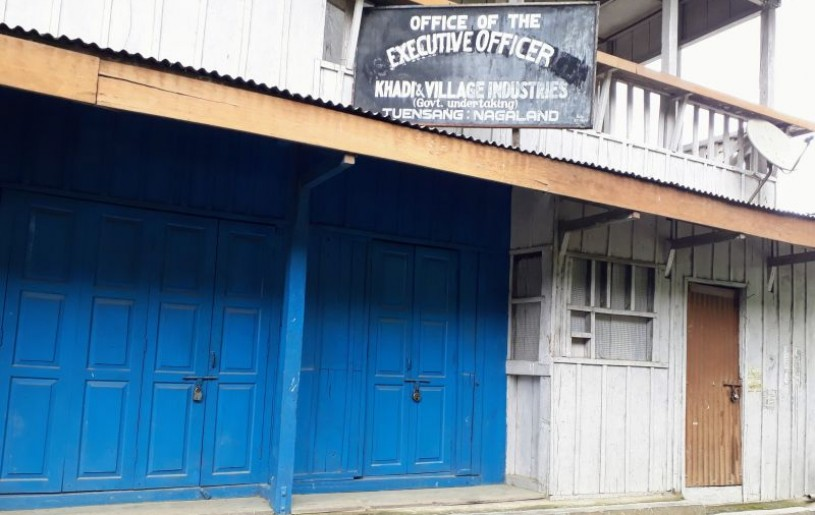 Government offices in Tuensang were reportedly found closed during inspection carried out by the CCSU on September 23 and 24.