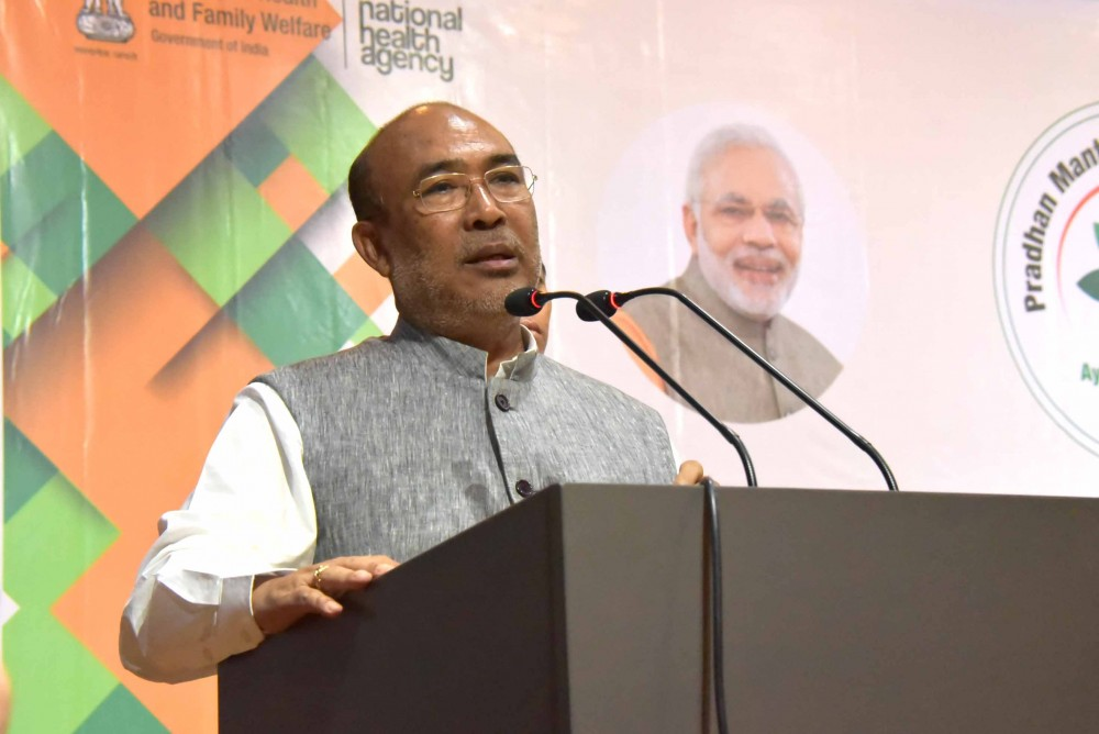 Manipur Chief Minister N Biren Singh. (File Photo)