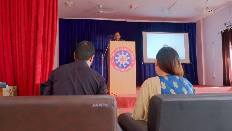 ICFAI University Nagaland held a memorial service to commemorate the first death anniversary of the Late Vice Chancellor Prof CP Alexander on November 21.