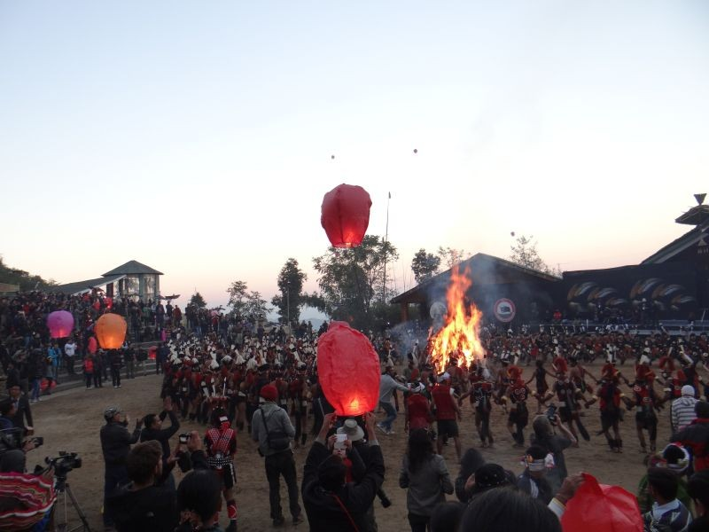 The Hornbill Festival which normally attracts thousands will be a completely virtual affair this year.
