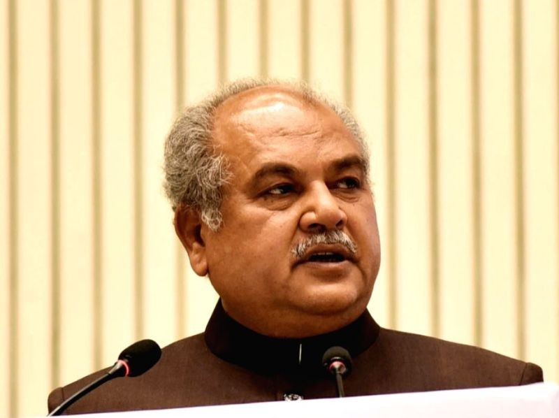 Narendra Singh Tomar. (IANS File Photo)