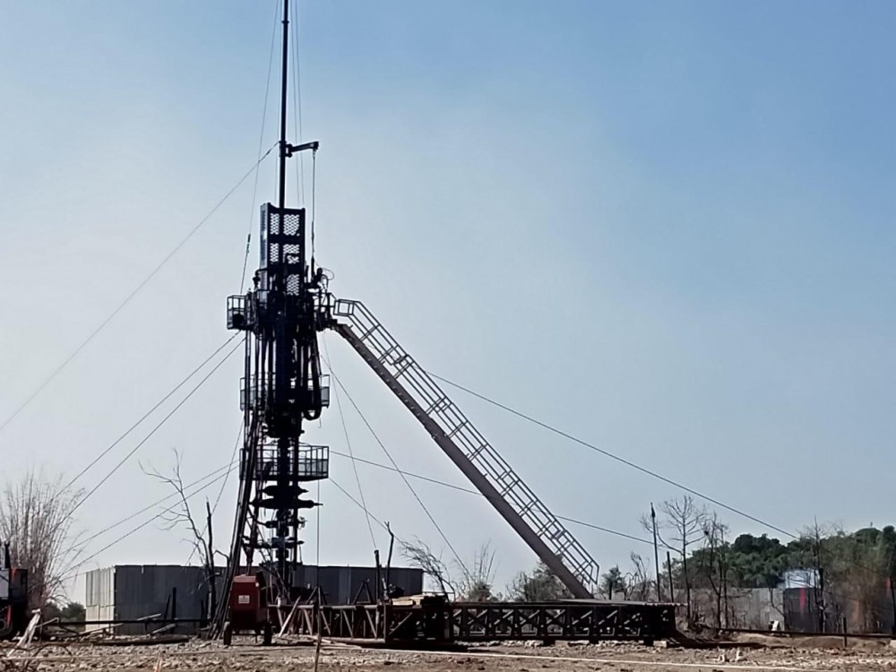 Natural gas and oil condensate had started leaking from the oil well in late May and caught fire on June 9. (IANS File Photo)
