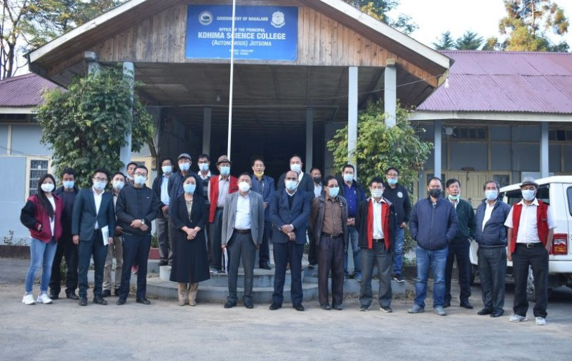 Members of the Committee on Settlement of Kohima Science College Jotsoma Land Issue held its first sitting on November 26.