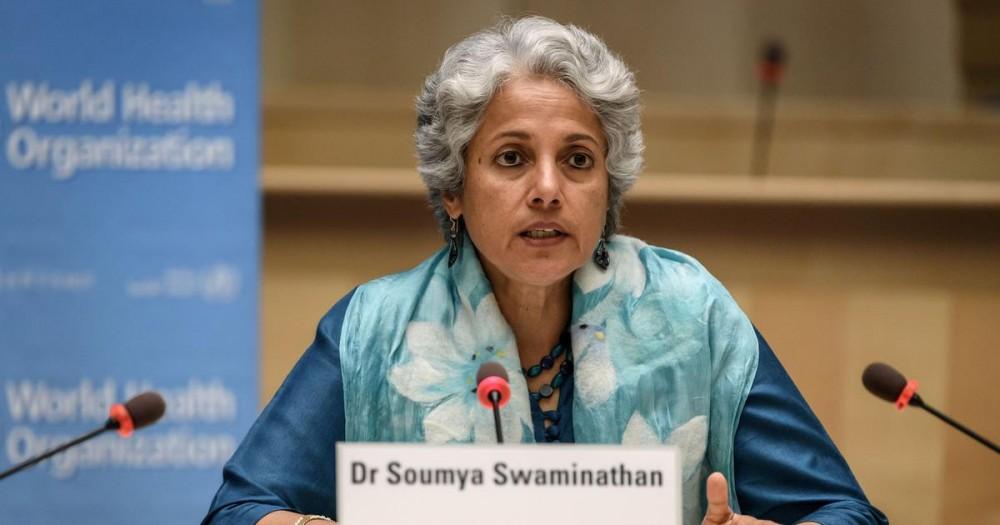 A file photo of World Health Organization Chief Scientist Soumya Swaminathan. AFP Photo