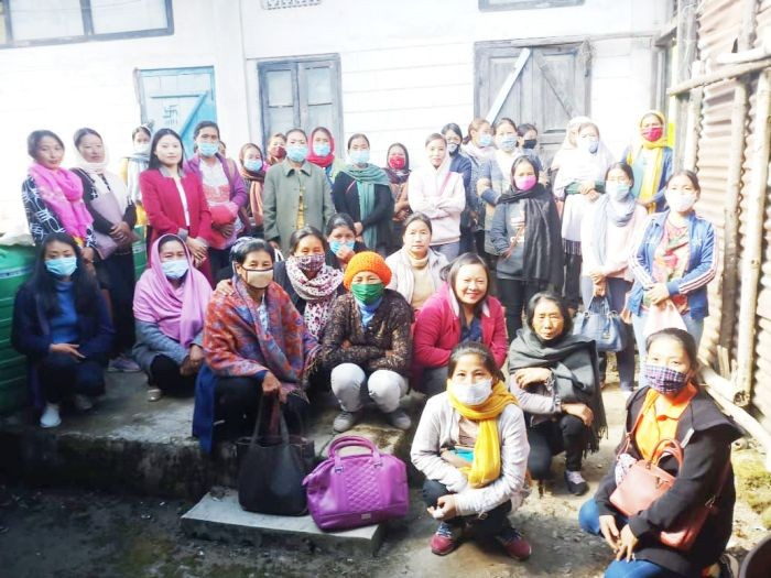 37 ASHAs participated in the monthly meeting and CNAC training held in Zunheboto on December 3. (Photo Courtesy: CMO Office, Zunheboto)