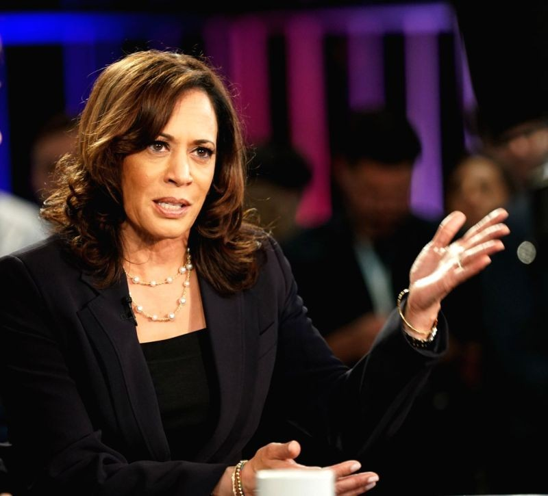 Kamala Harris. (IANS File Photo)
