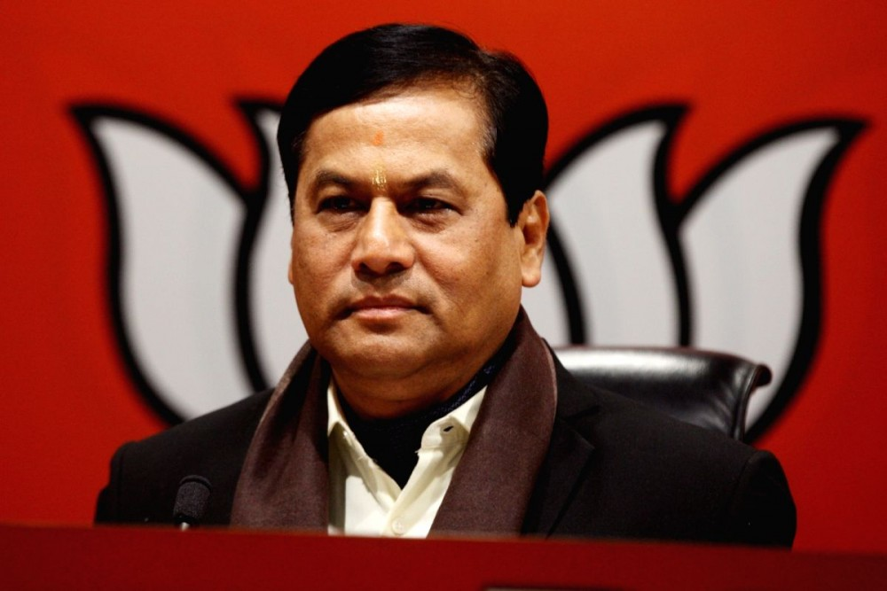 Assam Chief Minister Sarbananda Sonowal. Image Source: IANS