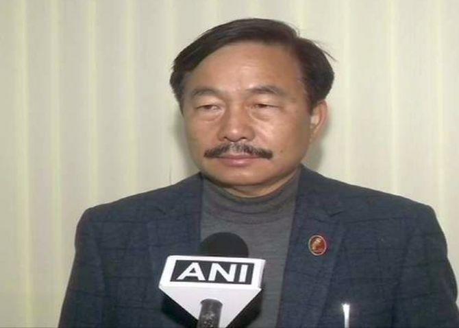 Bharatiya Janata Party MP from Arunachal Pradesh Tapir Gao .