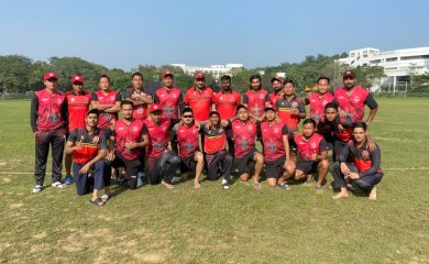 The Nagaland team which defeated Sikkim at the Syed Mushtaq Ali T20 trophy on January 15.