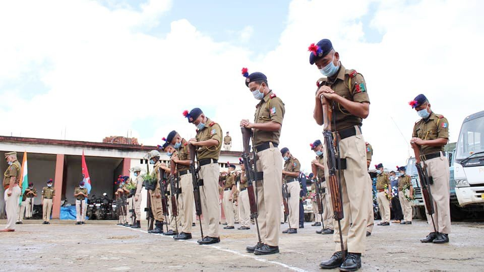 According to the 'Data on Police Organizations' released by the Bureau of Police Research & Development (BPR&D), Nagaland is the only State in India with more police force than sanctioned. (Photo Courtesy: Facebook/@TuensangPolice | For representational purpose)