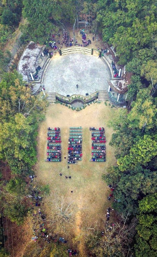 View of amphitheater at Süngkotenem Park in Mopungchuket village. (Photo Courtesy: Facebook)