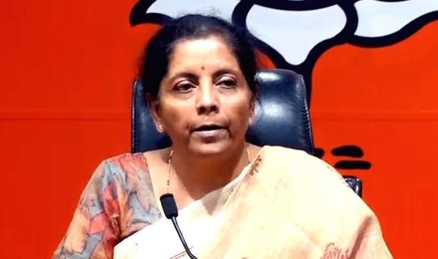 Finance Minister Nirmala Sitharaman. (IANS File Photo)