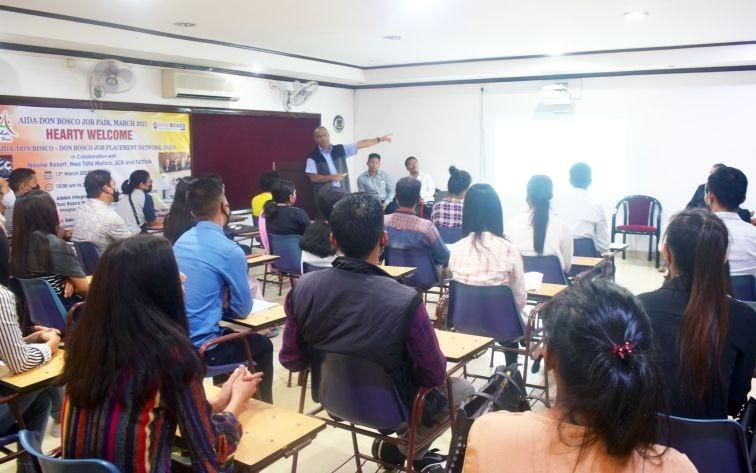 Youths receive career guidance during AIDA job fair in Dimapur - Morung Express