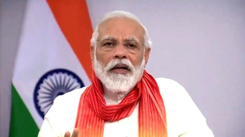 Prime Minister Narendra Modi.  (IANS Photo)
