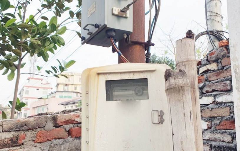A DoPN consumer energy meter in Dimapur. (For representational purpose only)