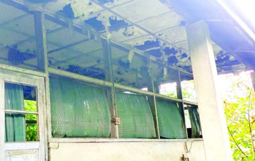 The existing morgue in Kohima is in a dilapidated condition. (Morung File Photo)