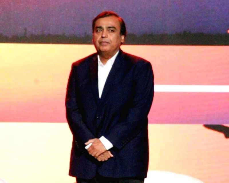 Reliance Industries Chairman Mukesh Ambani . (IANS File Photo)