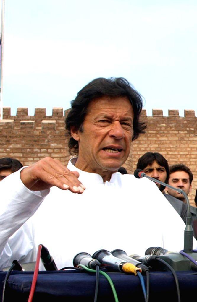 Imran Khan. (IANS File Photo)