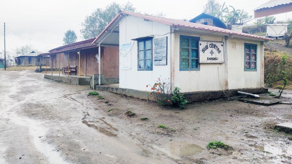 The sub centre at New Chingmei caters to the medical needs of six villages. (Morung Photo)