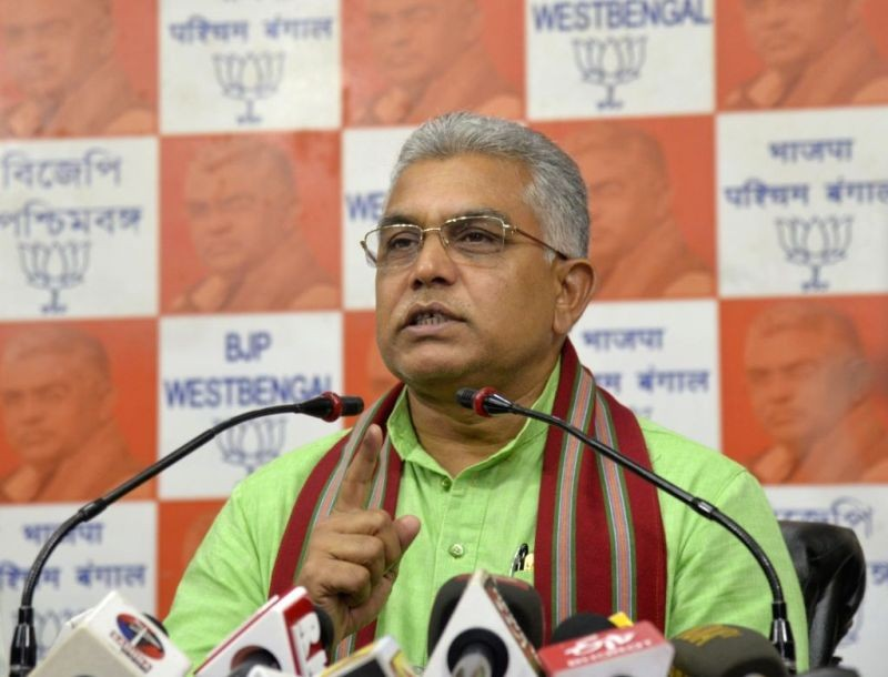 West Bengal BJP chief Dilip Ghosh. (IANS File Photo)