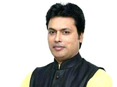 Biplab Kumar Deb. (IANS File Photo)