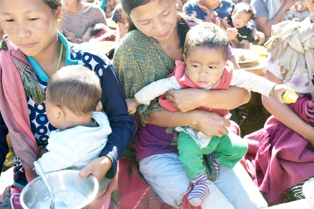 Nutrition intervention programmes are being conducted in Tuensang by the ECS along with the Social Welfare Department, Health Department, HCL Foundation and the community.