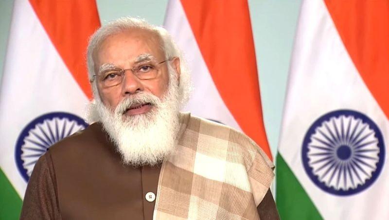 Prime Minister Narendra Modi . (IANS Photo)