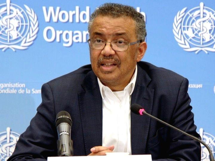 World Health Organization (WHO) Director-General Dr. Tedros Adhanom Ghebreyesus. (IANS File Photo)