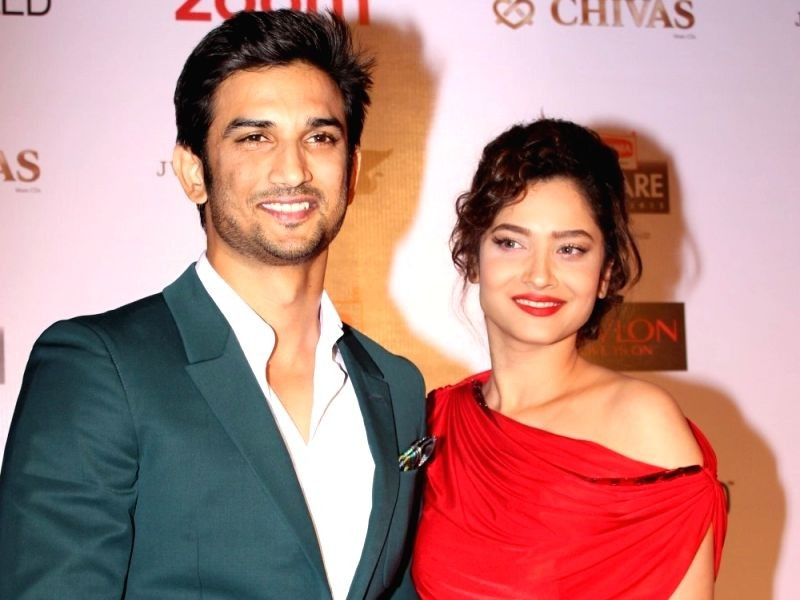 Actors Sushant Singh Rajput and Ankita Lokhande. Image Source: IANS