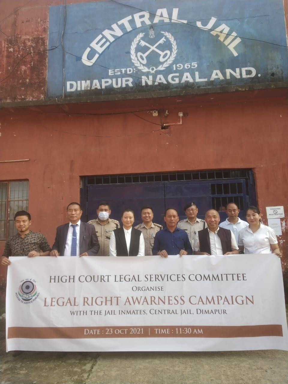 HCLSC Kohima Bench organizes legal rights awareness campaign