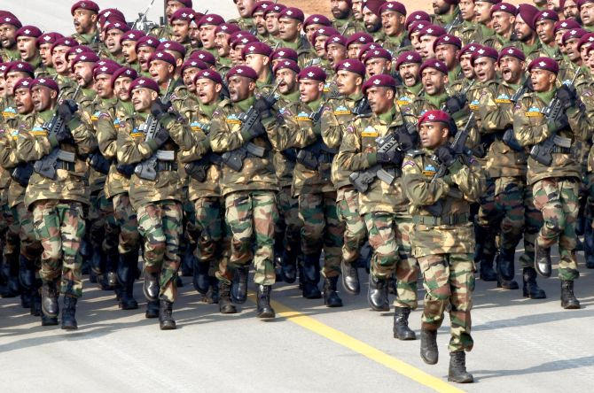 When marching contingents wowed crowds at Rajpath