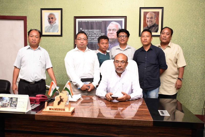 MHJU pushes Manipur Govt for setting up press clubs