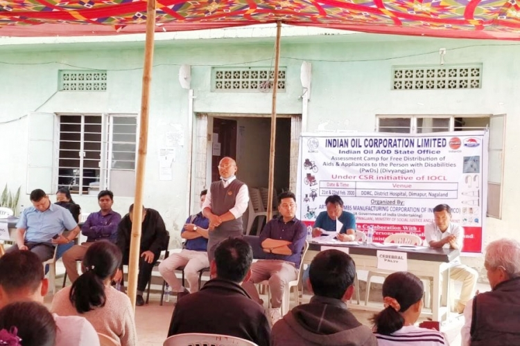 DDRC Dimapur begins assessment camp for PwDs
