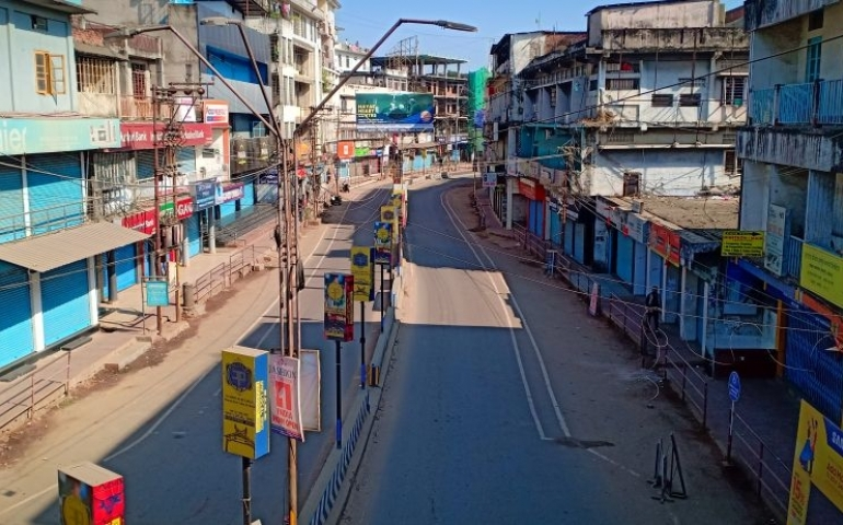 Normal life hit in parts of Nagaland in shutdown against