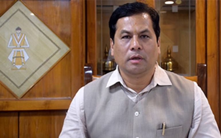 Sonowal appeals for peace amid tension in Assam