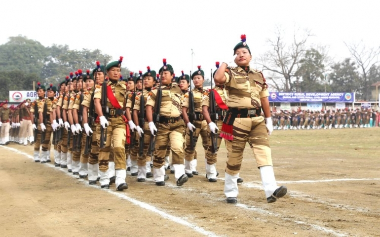 71st R-Day celebrated in Nagaland State